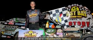 Adams Snaps Strickler's Win Streak At East Bay