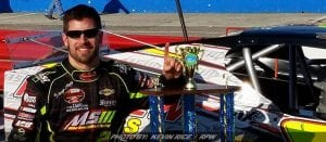 Coby Charges Late For Modified Win At Myrtle Beach