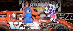 Hawkins Soars To DIRTcar Nationals Opening Victory