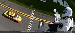 Logano Claims Victory In Wild Clash At Daytona
