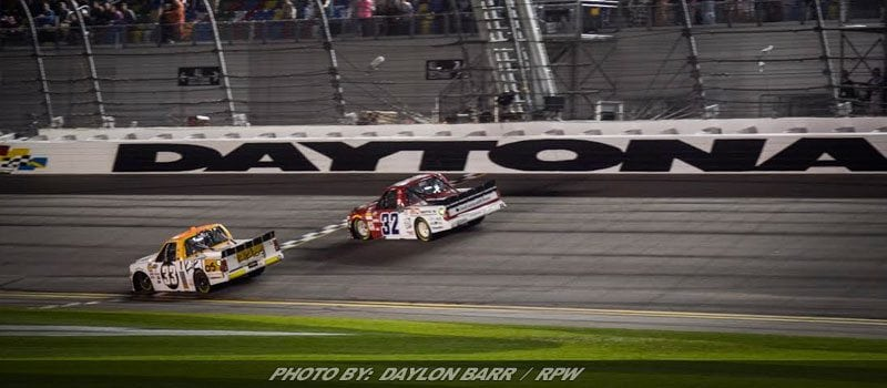 Grala Avoids Last Lap Melee For Daytona Truck Win