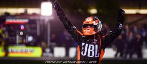 Two-Lap Shootout Nets Bell Atlanta Truck Series Win