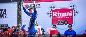 Busch Wins NASCAR XFINITY Race At Atlanta