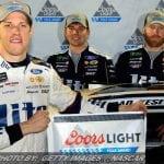 Keselowski Edges Truex For Vegas NASCAR Cup Pole
