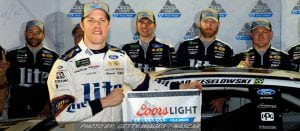 Keselowski Edges Truex For Vegas NASCAR Cup Pole