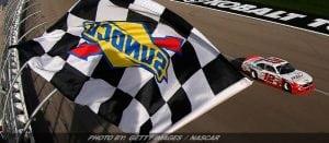 Logano Holds Off Larson For NASCAR XFINITY Win At Vegas