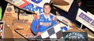 Dietrich Enters USAC Non-Wing Eastern Storm