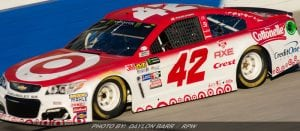 Larson Leads NASCAR Cup Points Standings Heading To CA