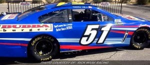 Rick Ware Racing To Sport Bubba Burger Colors In Fontana