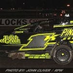 Laubach Takes 358-Mod Feature Friday At Bridgeport