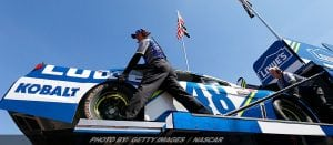 Practice Problems Force Jimmie Johnson To Backup Car