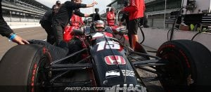 Despite Winds, Indy Test Brings Smile To Drivers' Faces