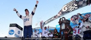 Keselowski Ends Fords Drought With Martinsville Win