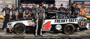 Harvick Leads Ford Sweep In Cup Series Qualifying At Texas