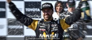 Hinchcliffe Races To Rewarding IndyCar Victory At Long Beach