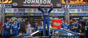 New Pavement Can't Stop Jimmie Johnson At Texas