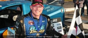 Pennink Puts 'Ole Blue' Back In Victory Lane; Wins Icebreaker At Thompson