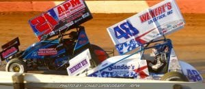 Dietrich Climbs To Ninth With All Stars At Atomic Speedway