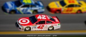 Racking Up The Cup Series Points: Larson Runner-Up Finish
