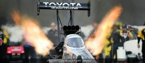 Toyota Signs Extension Of Las Vegas NHRA Nationals Sponsorship