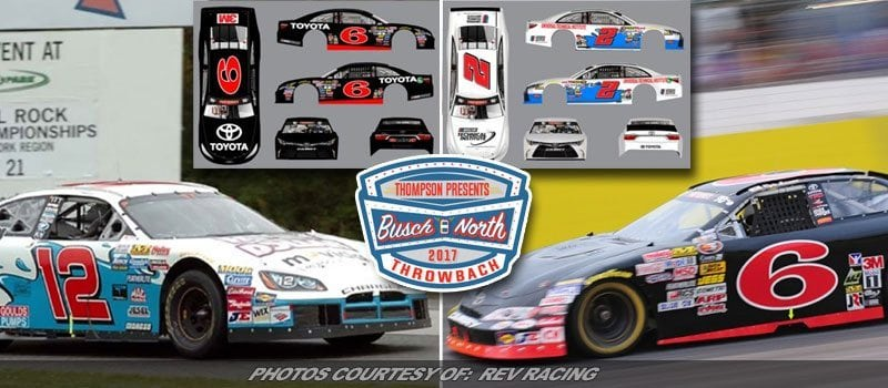 First Throwbacks Unveiled For Thompson K&N East Race