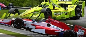Andretti, Pagenaud Lead IndyCar Practice At Barber Motorsports Park