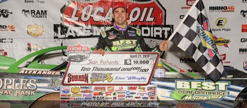 Richards Best In Steel Valley 50 At Sharon Speedway