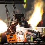 Millican Among Leaders In NHRA Spring Nationals Qualifying