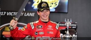 Burton Survives Rain-Shortened K&N East Race At Bristol
