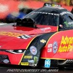 Courtney Force Fast Again: #1 Qualifier For NHRA Spring Nationals