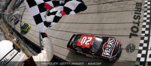 Jones Rallies From Penalty To Win NASCAR XFINITY Race At Bristol
