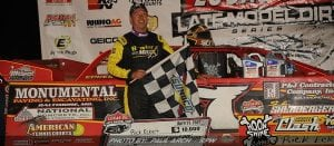 Rick Eckert Charges Late To Lucas Oil LM Dirt Series Win Port Royal