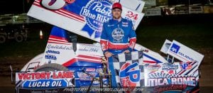 Wolfe Uses Last Lap Pass To Become Gladiator Winner At Utica-Rome