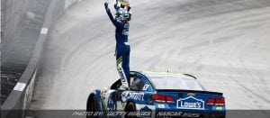 Jimmie Johnson Stays Hot With Monday's NASCAR Cup Win At Bristol