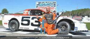 Thomas Conquers North East Mini Stock Opener At Lee USA