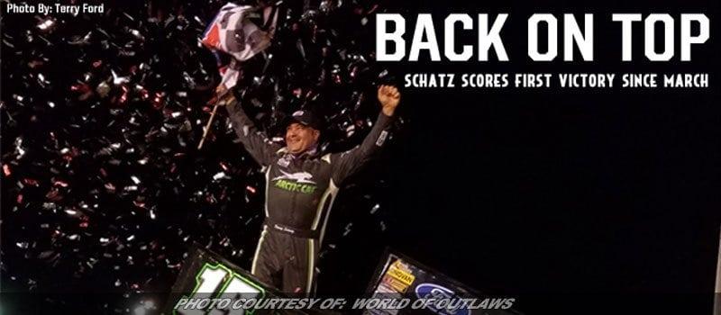 Schatz Scores Seventh Win Of WoO Sprint Season At Sedalia