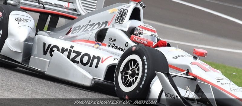 Power Wins INDYCAR Grand Prix From Pole At Indianapolis