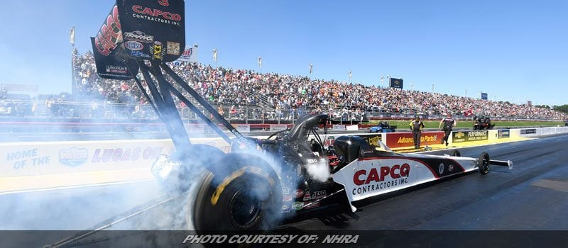 NHRA's Steve Torrence Has No Plans On Slowing Down