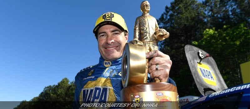 Ron Capps Still Red Hot Heading To NHRA Even In Heartland
