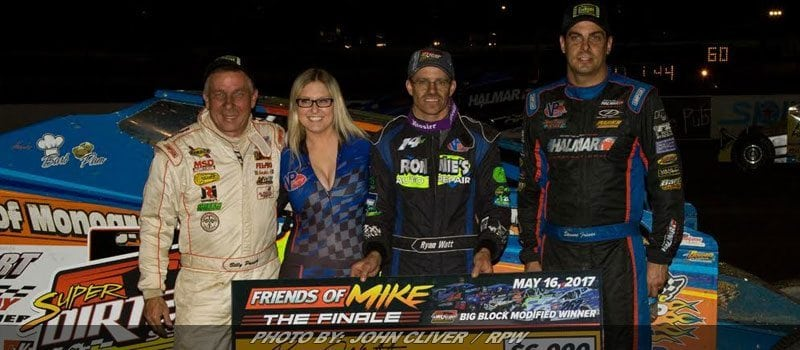 Watt Earns First Career Super DIRTcar Series Win At Bridgeport