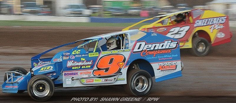 Sheppard, Decker Lead Super DIRTcar Series Invasion Into Weedsport