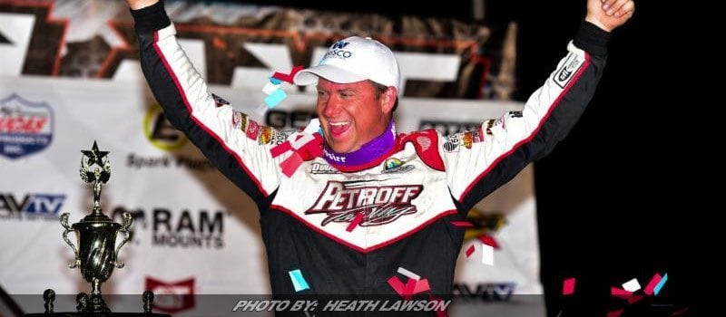 Shannon Babb Takes First Ever Lucas Oil Race at Luxemburg