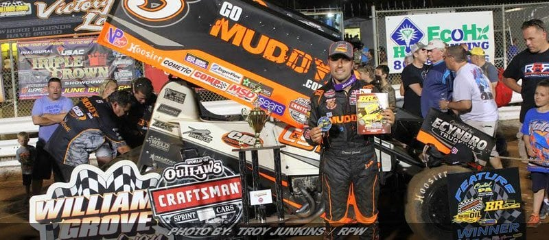 Gravel Leads Flag-To-Flag For Spring Classic Win At Williams Grove