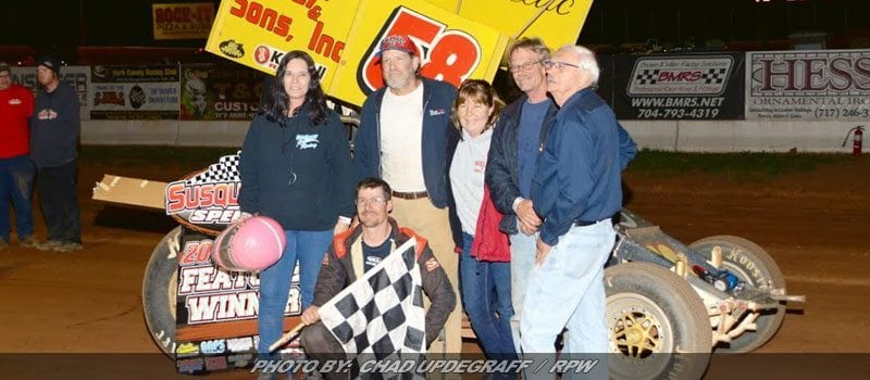 Paul Miller Charges To First Susquehanna Win