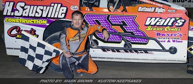 Persistence Pays Off: Chad Pierce Wins First Of '17 At Lebanon Valley