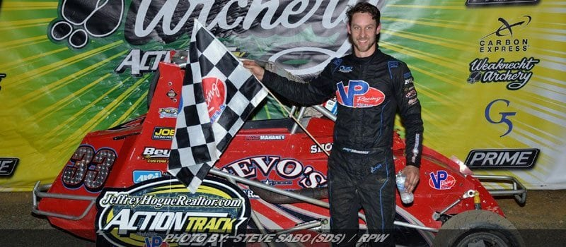 Mahaney Works Magic To Win SpeedSTR Main At Action Track USA