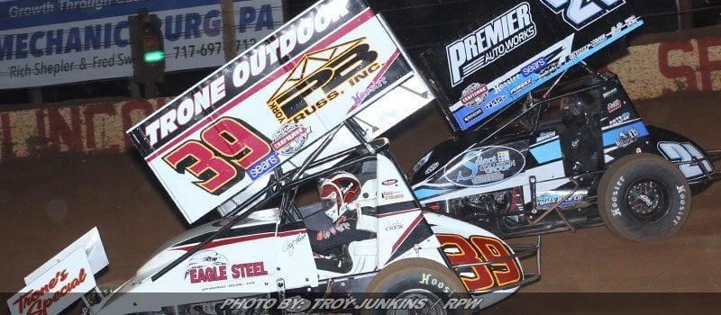 Cory Haas Comes Home 12th Against World Of Outlaws At Lincoln