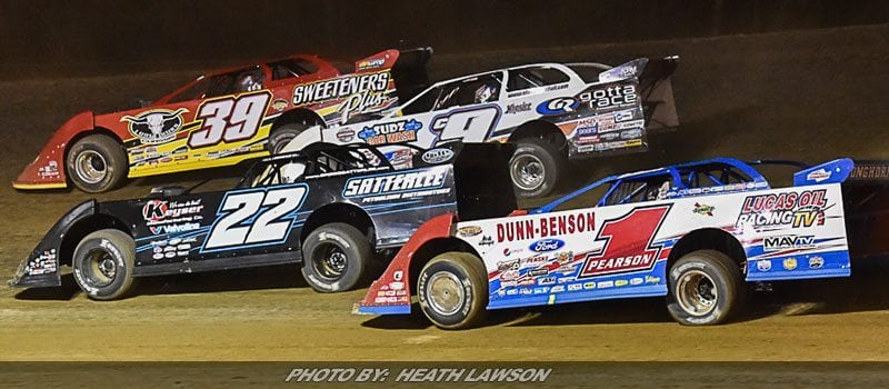 McCreadie Wins Lucas Oil LM Dirt Series Tribute To Don & Billie Gibson