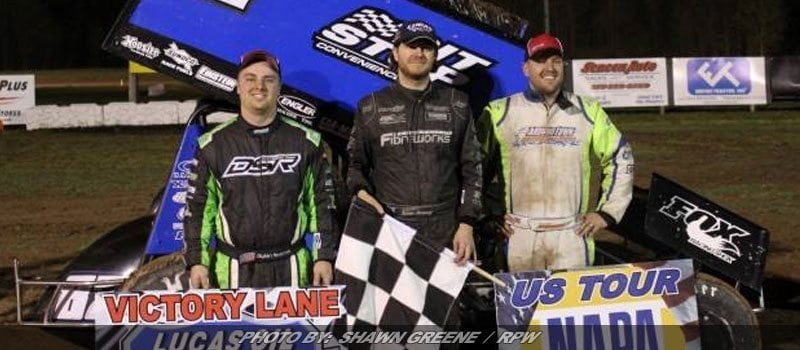 Barney Blasts By Reakes For Empire Super Sprint Win At Canandaigua