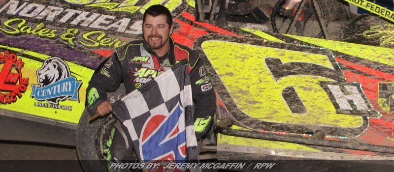 Hohenforst Powers His Way To Fonda's Checkered Board Square